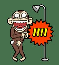 Crazy Funky Monkey3 sticker #14375732