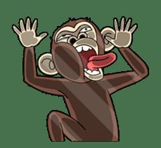 Crazy Funky Monkey3 sticker #14375733