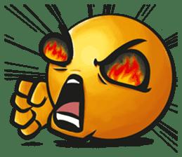 Crazy Emoji sticker #14378725