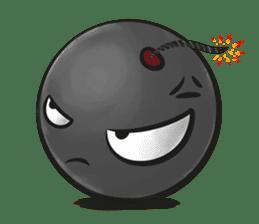 Crazy Emoji sticker #14378729