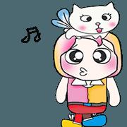สติ๊กเกอร์ไลน์ Mr. Kentaro and cat..^_^