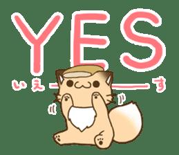konkon kityune 2 sticker #14392055
