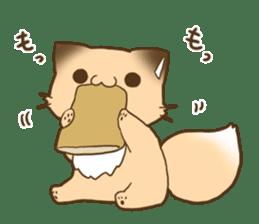 konkon kityune 2 sticker #14392070