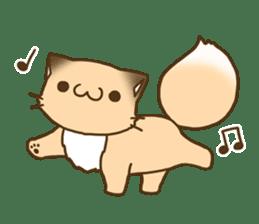 konkon kityune 2 sticker #14392080