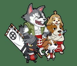 SENGOKU PUZZLE!! ANIMAL DAIGASSEN No.02 sticker #14392972
