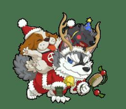 SENGOKU PUZZLE!! ANIMAL DAIGASSEN No.02 sticker #14392980