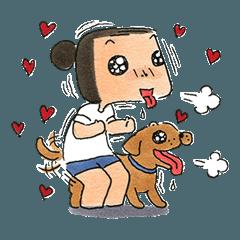 a dog person