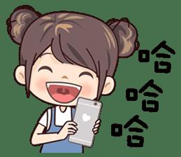 W Girl sticker #14403816