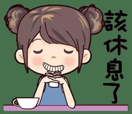 W Girl sticker #14403821