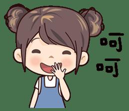 W Girl sticker #14403834
