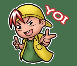 Jordi, Anak Sok Gaul sticker #14406691