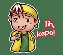 Jordi, Anak Sok Gaul sticker #14406692