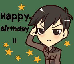 A-Dun Greeting Happy Birthday 2017 sticker #14408594