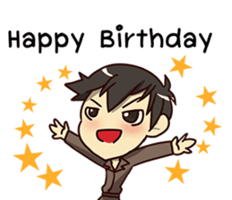 A-Dun Greeting Happy Birthday 2017 sticker #14408595