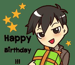 A-Dun Greeting Happy Birthday 2017 sticker #14408596