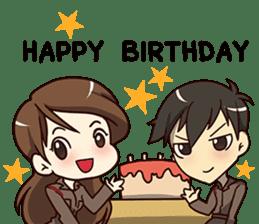A-Dun Greeting Happy Birthday 2017 sticker #14408597