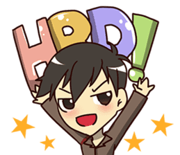 A-Dun Greeting Happy Birthday 2017 sticker #14408599
