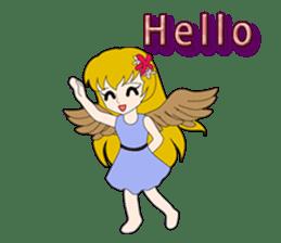 Small Angel(English) sticker #14411775