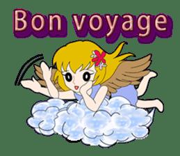 Small Angel(English) sticker #14411782
