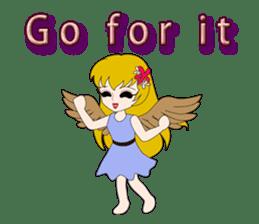 Small Angel(English) sticker #14411792
