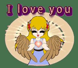 Small Angel(English) sticker #14411800