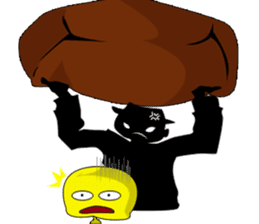 Only Shadow Man sticker #14413540