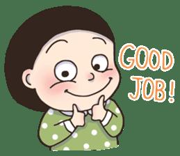 Bob Girl 2 - Holidays & Greetings sticker #14414302