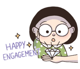 Bob Girl 2 - Holidays & Greetings sticker #14414314