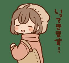 Sticker obediently tell~girl~ sticker #14419096