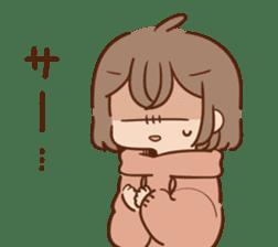 Sticker obediently tell~girl~ sticker #14419126