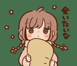 Sticker obediently tell~girl~ sticker #14419130