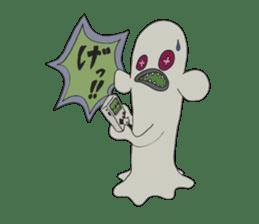 Strange creatures Sticker Cute monster sticker #14424036