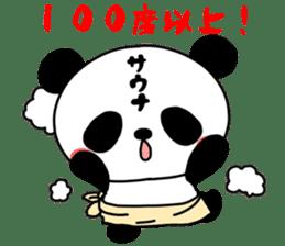 100% sauna Sticker sticker #14446361