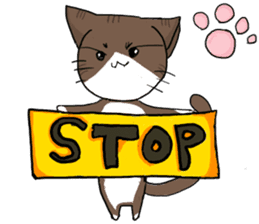 Nyanko at home sticker #14449513