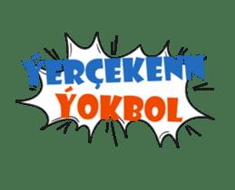 Speech Bublle Turkmen sticker #14451224