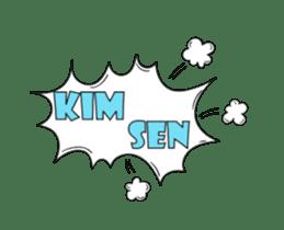 Speech Bublle Turkmen sticker #14451231