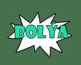 Speech Bublle Turkmen sticker #14451234