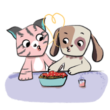 Bubu and Charley's First Date sticker #14452380