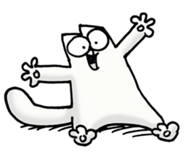 Simon's Cat sticker #14455422