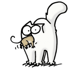 Simon's Cat sticker #14455425