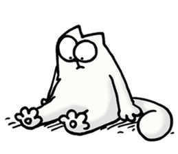 Simon's Cat sticker #14455433