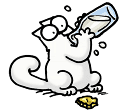 Simon's Cat sticker #14455437