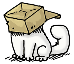 Simon's Cat sticker #14455440