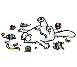 Simon's Cat sticker #14455444