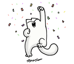 Simon's Cat sticker #14455451