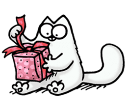 Simon's Cat sticker #14455458