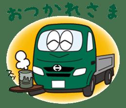 HINO DUTRO'S sticker #14456474
