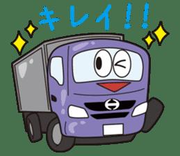 HINO DUTRO'S sticker #14456477
