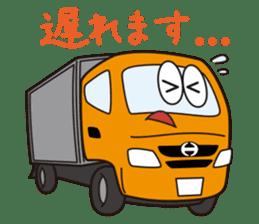 HINO DUTRO'S sticker #14456497
