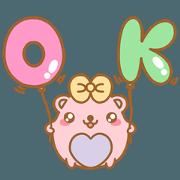 สติ๊กเกอร์ไลน์ หมีไออุ่น: คำโตโต โอเค ทุกวัน